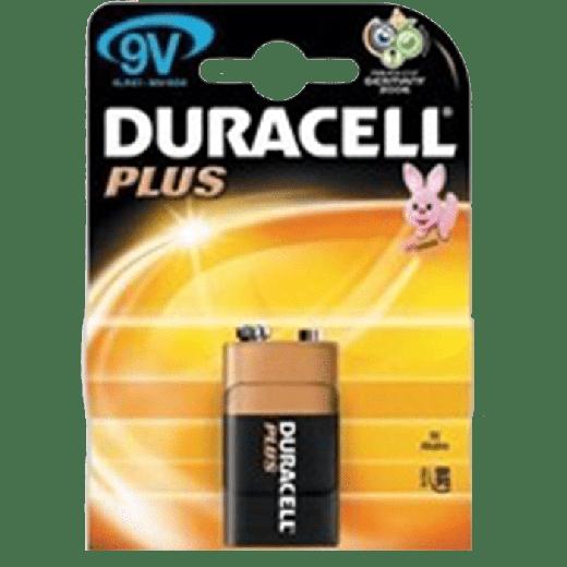 01631 - 10pc. per box - Duracell Power Plus Alkaline 9V/MN1604 1x Blister