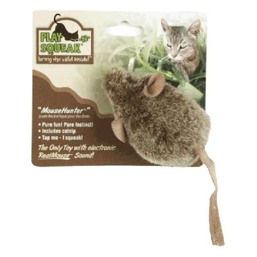 0ACT12074 - 6pc. per unit - Play N Squeak Mouse Hunter