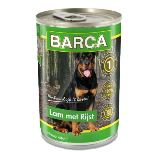 15003 - 6pc. per unit - Barca Canned Lamb with Rice