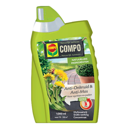 2659102003 - 12 pc. per box COMPO Anti-Weeds & Antimos Spray / Ready Total Weed Killer 1L