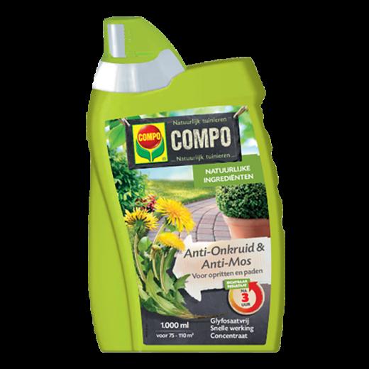 2437402003 - 12 pc. per box COMPO Anti-Weeds & Anti-Moss Pad & Terrace Spray / Ready 1L