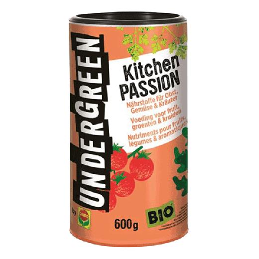 2830202004 - 12pc. per box - UNDERGREEN Kitchen Passion Bio Nutrition Fruit, Vegetables & Spices Grain 600gr