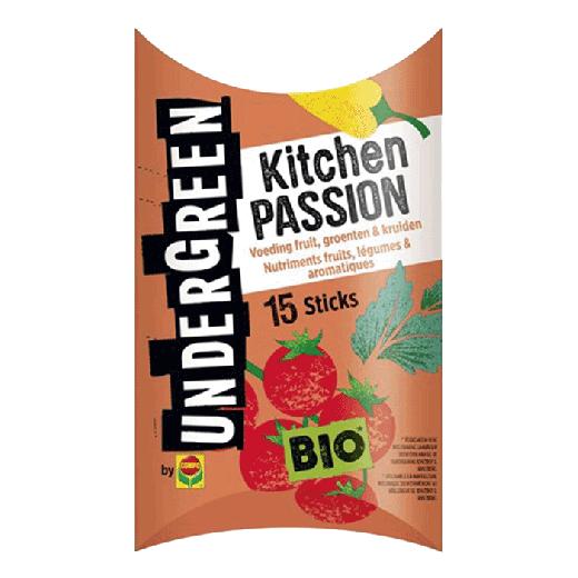 2830302017 - 10pc. per box - UNDERGREEN Kitchen Passion Bio Nutrition Fruit, Vegetables & Spices Bars