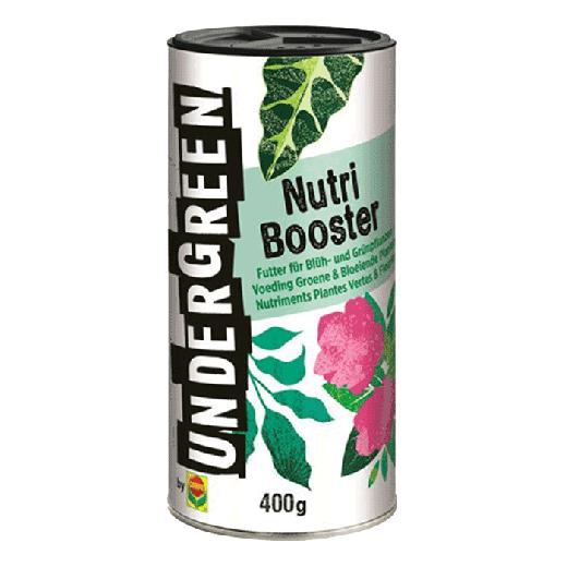 2830902004 - 20pc. per box UNDERGREEN Nutri Booster Nutrition Green & Flowering Plants 400gr