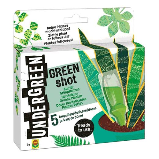 2831002004 - 12pc. per box UNDERGREEN Green Shot Recovery Cure Green Plants 150ML