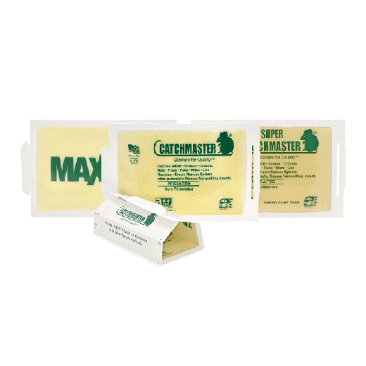 72MBU6 - 72pc. per box - Catchmaster® Super/Unscented Mouse Glue Boards