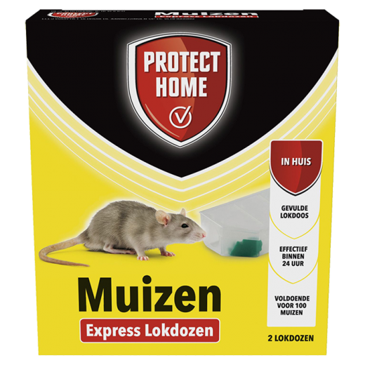 86600157 - 12pc. per box - Protect Home Express Mouse Bait Box