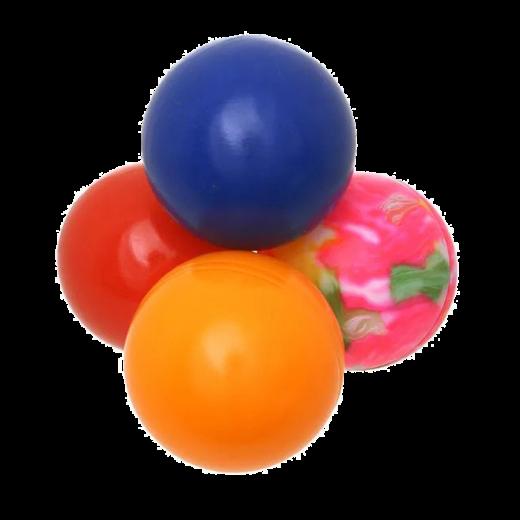 EA058 - 60pc. per unit - Cat Circus Ping Pong Balls In Drum