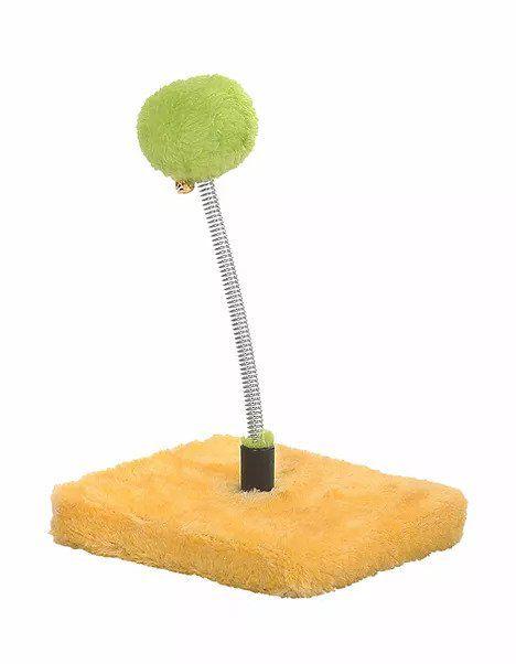 EA500 - 3pc. per unit - Cat Circus 44cm Fluffy Ball Spring Toy