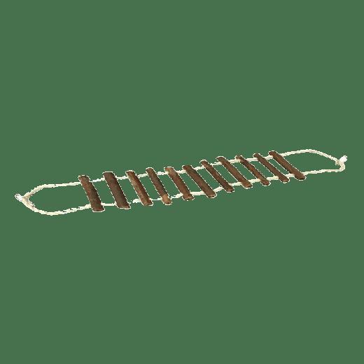 FA200 - 6pc. per unit - BEAKS Natural Rope & Log Bridge Small