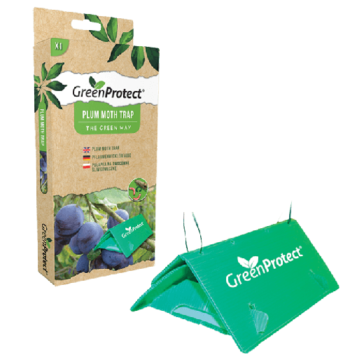 GPPMT1 – 12pc. per box - Green Protect Plum Moth Trap