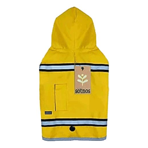 KC010-S - Sötnos Dogwear Raincoat Sunshine Yellow S