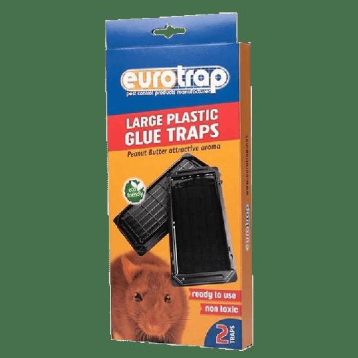 LPGT - 10pc. per box - Eurotrap Large Plastic Gluetray Traps