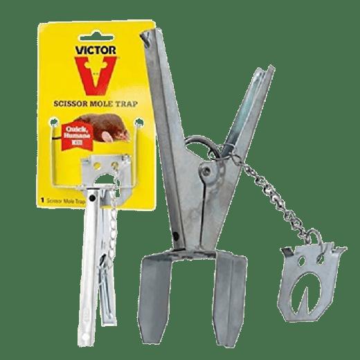 M655U - 12pc. per box - Victor Scissor Mole Trap