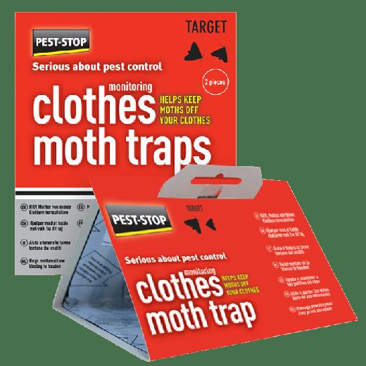 PSCMT - 12pc. per box Pest-Stop Clothes Moth Trap