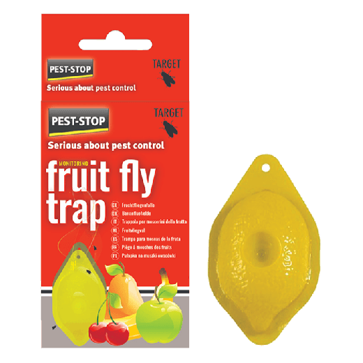 PSFFT - 8pc. per box Pest-Stop Fruit Fly Trap