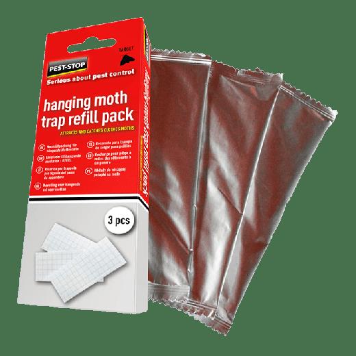 PSHMTR3 - 20pc. per box Pest-Stop Hanging Moth Trap Refill (3st)