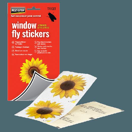 PSWFS - 20pc. per box Pest-Stop Window Fly Stickers