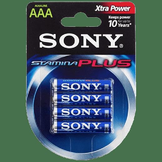01931 - 12pc. per box - Sony Alkaline Plus AAA 4x Blister