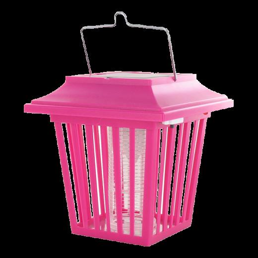 WK3017-P - 6pc. per box - Weitech Solar Lantern Inzzzector ( Pink )